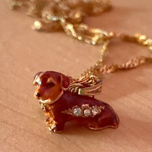 Jewelry - Cute Unique Dog Charm Necklace